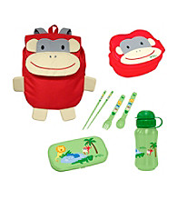 Green Sprouts® On Safari 4-pc. Lunch Set - Red Monkey