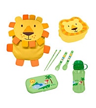 Green Sprouts® On Safari 4-pc. Lunch Set - Yellow Lion