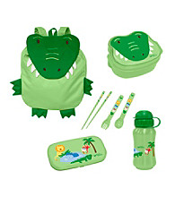 Green Sprouts® On Safari 4-pc. Lunch Set - Green Alligator