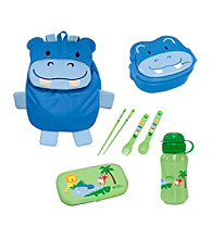 Green Sprouts® On Safari 4-pc. Lunch Set - Blue Hippo