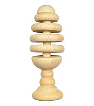 Green Sprouts® Natural Wooden Tree Rattle