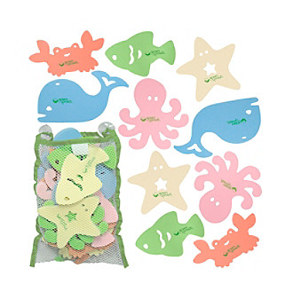 <strong>Web exclusive</strong>! Create an adorable under-the-sea world with these bath toys by Green Sprouts®.
