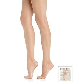 HUE® So Silky Sheer Reinforced Toe Pantyhose with Control Top