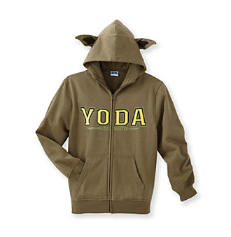 Star Wars® Boys 8-20 Yoda Costume Fleece Hoodie