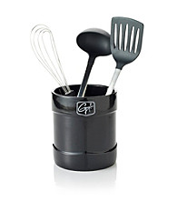 Guy Fieri Black Ceramic Tool Crock
