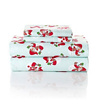LivingQuarters Heavy-Weight Snowman Flannel Sheet Sets