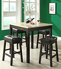 Monarch 5-pc. Counter Height Dining Set