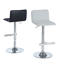 Monarch Set of 2 Retro Hydraulic Lift Barstools