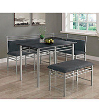 Monarch 3-pc. Madison Corner Dining Set