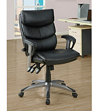 Monarch Black Deluxe Office Chair