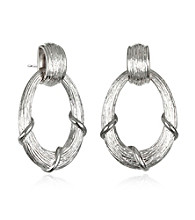 ARIVA Signature Oval Drop Earring