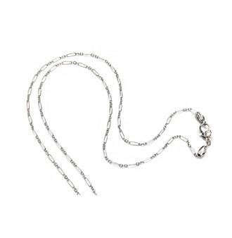 ARIVA Sterling Silver Alternating Link Chain