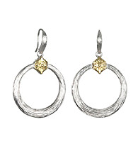 ARIVA Signature Hoop Drop Earring
