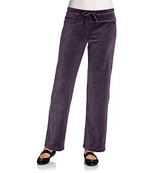 Calvin Klein Performance Solid Velour Drawstring Pant