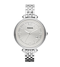 Fossil® Silver Heather Stainless Steel Watch