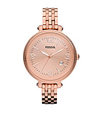 Fossil® Heather Rose Stainless Steel Watch