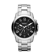 Fossil® Grant Roman Stainless Steel Watch