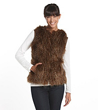 Nine West® Short Faux-Fur Vest