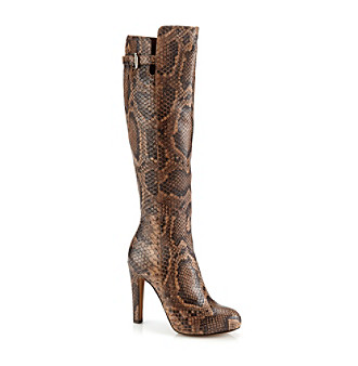 "Donald J. Pliner® ""Dion"" Dress Boot - Natural Snake"