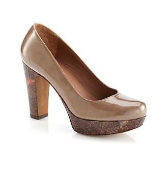 "Donald J. Pliner® ""Evie"" Dress Shoe - Natural Combo"