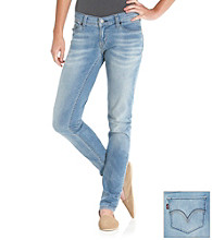 Levi's Juniors' 524 Visual Blue Skinny Jeans