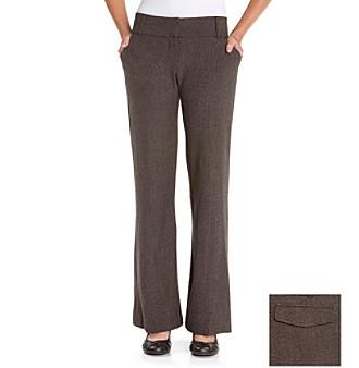 Sequin Hearts® Plaid Trouser Pants