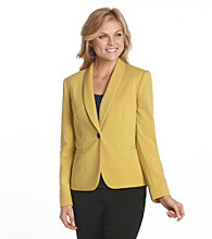 Nine West® Rounded-Collar Jacket