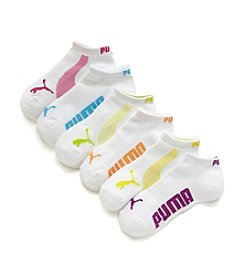 PUMA® No Show Sport Socks 6-Pack