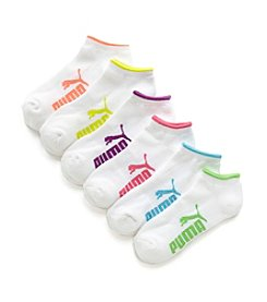PUMA® Low Cut Sport Socks 6-Pack
