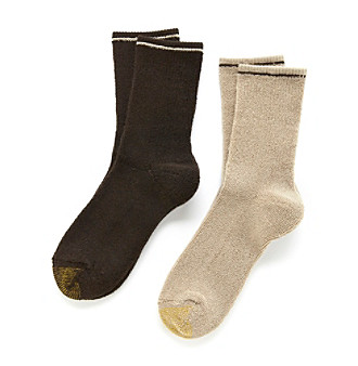 GOLD TOE® 2-pk. Terry Out Boot Socks