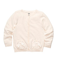 OshKosh B'Gosh® Girls' 4-6X Ivory Cardigan Sweater