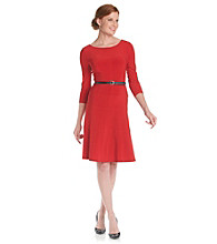 Anne Klein® Seamed Swing Dress