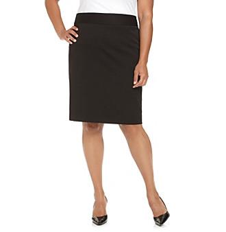 Anne Klein® Plus Size Pencil Skirt