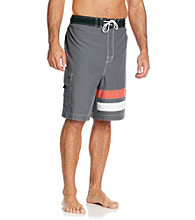 Paradise Collection® Men's Striped Swim Trunk