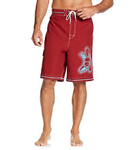Paradise Collection® Men's Hibiscus Swim Trunk