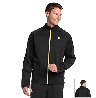 Champion® Men's Black Double Dry Pinnacle Jacket