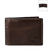 Fossil® Men's Brown Leather Wallet