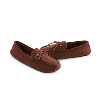 Isotoner® Secret Sole® Men's Microsuede Boater Moccasin