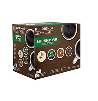 Green Mountain Coffee Medium Roast K-Cup Coffee Variety, 48 count