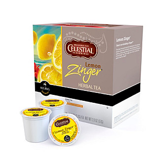 Keurig Celestial Seasonings® Lemon Zinger Herbal Tea 18-pk. K-Cups®