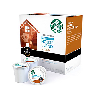 Keurig Starbucks® Decaf House Blend Coffee 16-pk. K-Cups®
