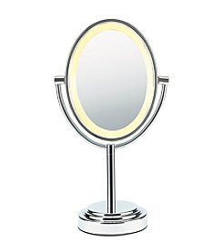 Conair® Oval Polished Chrome Double Sided Illuminated Mirror