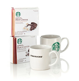 Starbucks® 2-Pack Cocoa Mug Set