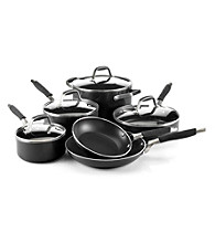 Guy Fieri Nonstick 10-pc. Black Cookware Set
