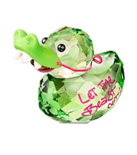 Swarovski® Happy Duck - Crocodile Duck