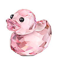 Swarovski® Happy Duck - Rosy Ruby