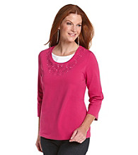 Breckenridge® Embroidered Top