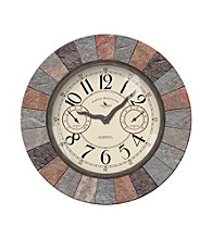 FirsTime Slate Outdoor Clock