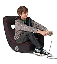 LevelUp™ Striped Gaming Chair with Speakers