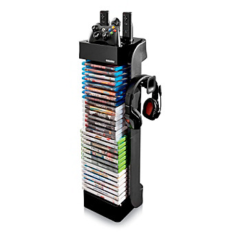 LevelUp™ Controller Storage Tower with Headset Holder
